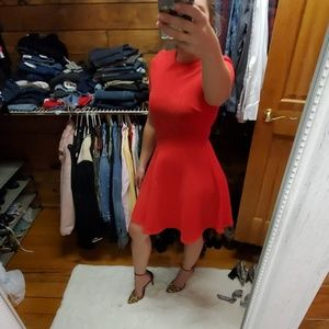 Opening Ceremony red skater dress